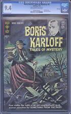 Boris Karloff Tales of Mystery # 4 CGC 9.4, Highest Graded, File Copy Pedigree
