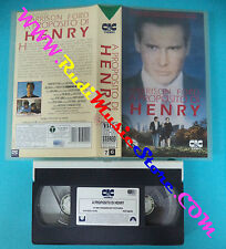 film VHS A PROPOSITO DI HENRY  1991 Harrison Ford  PARAMOUNT 50290(F149**)no dvd