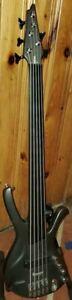 Ibanez EDA 905F 5-string unlined fretless bass (RARE Factory Fretless!!!)