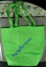 Mygofer Kool Pak Recycled Material Lime Green Eco Friendly Tote Bag 13.5 X 14.5
