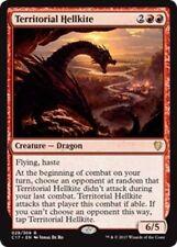 1x TERRITORIAL HELLKITE - Rare - Commander - MTG - Magic the Gathering