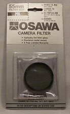 Osawa 55 55mm Linear Polarizer Filter    55PL   Made in Japan    old stock NEW