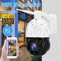 1080P HD Wireless PTZ Wifi Security Camera Outdoor Audio 30X Optical Zoom Cam