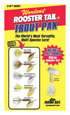 New Original Rooster Tail Spinner Box Kit 1/4Oz Free Vibric Rtbx.212.S777