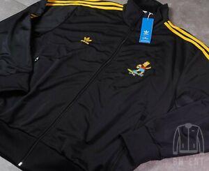 Adidas The Simpsons Bart Simpsion Firebird Track Jacket Size L Men's HA5814