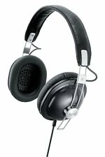 Panasonic stereo headphones black RP-HTX7-K JAPAN OFFICIAL IMPORT FREE SHIPPING