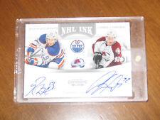 2011-12 Panini Contenders NHL Ink Ryan Nugent Hopkins Gabriel Landeskog Auto RC
