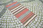 Unique Antique Caucasian Shahsavan Kilim 33'' x 72'' Colletors Piece Kilim Rug