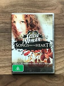 CELTIC WOMAN Songs From The Heard - LIVE From Powerscourt House DVD