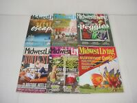 Lot of 6 Midwest Living Magazines 2014 to 2017