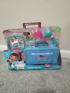Disney Doc McStuffins Pet Vet Doctor's Bag Set, NEW FACTORY SEALED