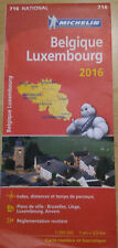 Belgique Luxembourg 2016 - Michelin 716