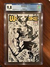 Wolverine #1 CGC 9.8 Marvel  Comics 2020. Jim Lee Sketch  Hidden Gem Variant.