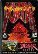 Ultra Vortek (Atari Jaguar, 1995) with Box & Manual