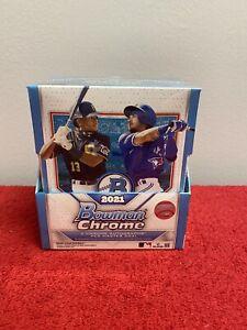2021 Topps Baseball Bowman Chrome Hobby Box. Factory Sealed Master Box. 2 Autos!