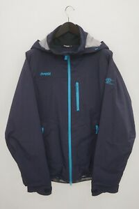 Men Bergans Of Norway Jacket Skiing Snowboarding Breathable Blue Recco 2XL XJK38
