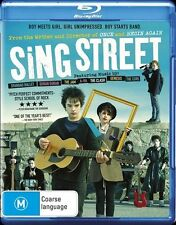 Sing Street (Blu-ray, 2016) New Sealed