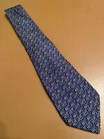 "Euc Salvatore Ferragamo Blue Ducks Men's Silk Tie Made In Italy Animal 58"" 3.75"""