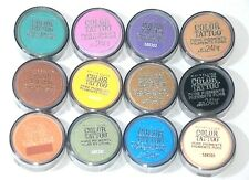 NEW Lot of 12 Maybelline Color Tattoo Pure Pigments Up To 24Hr Eye Shadow - DEAL