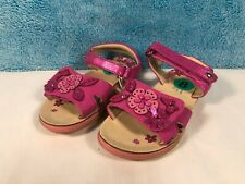 Naturino Express Kids Girls Pink Flower Sandals - Infant Size 8 NEW with Tags