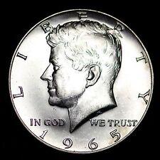 1965 Kennedy 40% Silver Half Dollar GEM BU FREE SHIPPING!