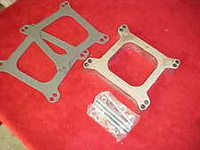 1'' aluminum open carb spacer kit,HOLLEY,edelbrock,all gaskets/hardware,SK1AO