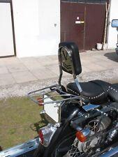 SISSY BAR PASSENGER BACKREST + LUGGAGE RACK HONDA VT 125 VT125 SHADOW