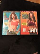 Jillian Michaels Workout DVDs Pack Of 2. No More Trouble Zones And 30 Day Shred