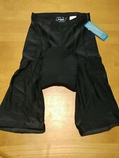 PT Sports Wear Black Cycling Shorts Size 2XL Padded Lycra Spandex