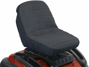 Universal Lawn Mower Tractor Seat Cover Padded Waterproof Weather Protection