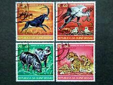 Guine-Bissau 1978 Endangered Animals - 4v Used