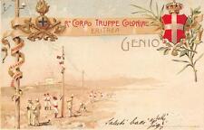 C1557) REGIO CORPO TRUPPE ERITREA, GENIO VG NEL 1905 DA ASMARA.