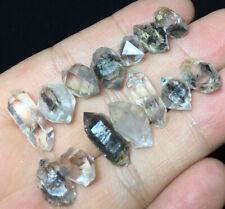 11g Rare quality natural Herkimer diamond quartz crystal point specimen Z208