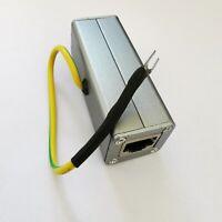 Ethernet Network Card RJ45 Surge Protector Thunder Lightning Arrester Protection