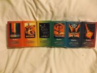 Star Trek Skybox Trading Card Factory Sets (1994).  Movies 1-6 New!!