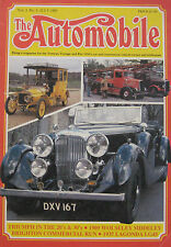 The Automobile magazine Vol.3, No.5 07/1985 featuring Triumph, Lagonda, Wolseley
