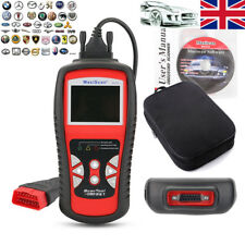 MS529 OBDII ODB2 Auto Vehicle Fault Codes Reader Reset Diagnostic Scanner Tool