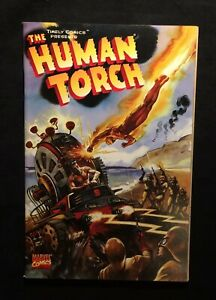 Marvel Timely Comics The Human Torch Originally Published Fall 1941 8.5 Modern