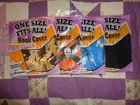 4 of It's Academic One Size Fits All Pattern/Solid Book Cover  Stretchy New #46
