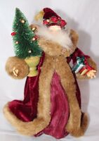 Midwest of Cannon Falls Holiday Santa Christmas Tree Topper Ornament