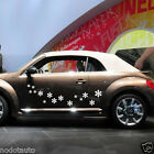 Car Flowers Cute Door Decals for Beetle Vinyl Graphics Side sticker #435
