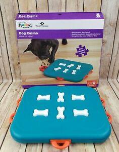 Dog Casino - Stimulating Puzzle Treat Reward Toy Outward Hound Nina Ottosson