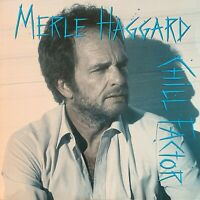 MERLE HAGGARD~Pre-Owned LP-CHILL FACTOR~RARELY PLAYED~LP//NM SL//NM ISL//VG+