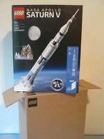 NEW LEGO 21309 Ideas Nasa Apollo Saturn V Building Kit (1969 Piece)