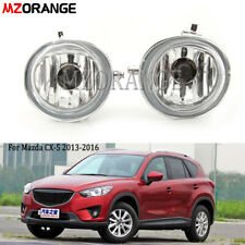 For Mazda CX-5 2013-16 Clear Lens Pair Bumper Fog Light Driving Lamp Replacement