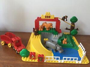 Lego Duplo vintage 2668 Children's zoo -1990-