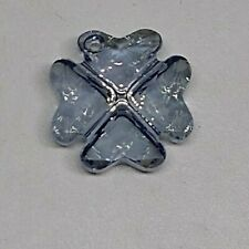 Swarovski Crystal Blue Shade 19mm Clover 6764 Pendant