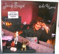 Janis Seigel At Home 9 track 1987 LP RECORD sealed! trouble man