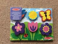 Melissa and Doug Wooden Chunky Puzzle Scene BNWT