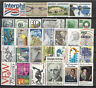 UNITED STATES USA STAMP COLLECTION PACKET of 30 DIFFERENT Stamps MNH (Lot 1)